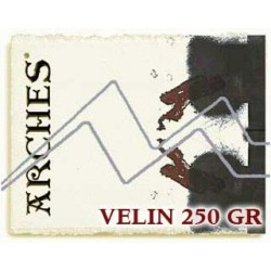 PAPEL VELIN ARCHES 250 GRS.
