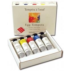Set Sennelier Tempera Yema de Huevo
