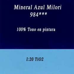 Belga 984 Azul Milori Inorganico Media Libra