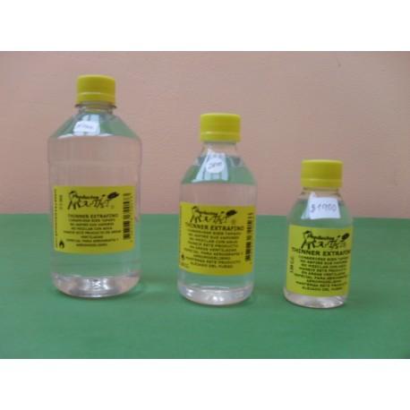 Thinner Rectificado 120,240 y 500 ml.