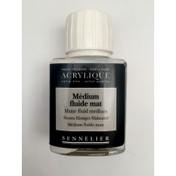 MEDIUM MATE PARA ACRILICO SENNELIER X 75ML