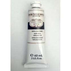 Tinta Charbonnel para Grabado al Aceite Tubo x 60 Ml. Sepia Claro, Sepia Oscuro-Sanguina y Negro Intenso y Negro Claro.