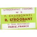 Tizas Litograficas negras Charbonnel