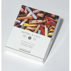 Pasteles Boîtes Carton Paysage