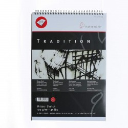 Papel Tradition Aleman en Block 150 Grs. extrablanco