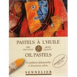 Tizas Óleo-Pastel Sennelier x 6