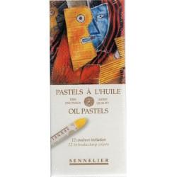Tizas Óleo-Pastel Sennelier x 12