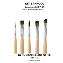 Kit Pinceles Barroco Condor Ver descripcion.