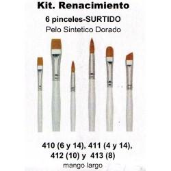 Kit Pinceles Condor Renacimiento