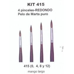 Kit Pinceles 415 Condor