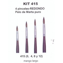 Kit Pinceles Condor 415