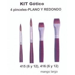 Kit Pinceles Condor Gótico