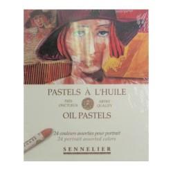 Pasteles al óleo x 24