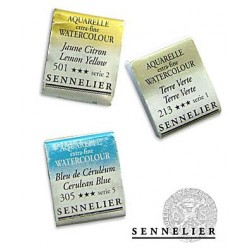 Acuarelas Sennelier Pastillas Serie 3