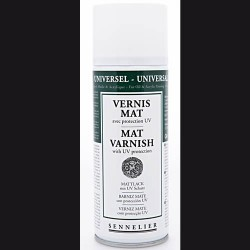Barniz Spray Mate Sennelier 400ML