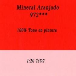 Naranja Mandarina Ref. 971 Inorganico Media Libra