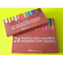 CAJAS DE PASTEL DUROS SENNELIER 12 x 24 y 48 Tizas Ver descripcion.