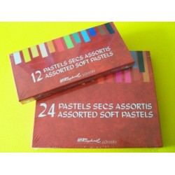 CAJAS DE PASTEL DUROS SENNELIER 24 y 48 Tizas Ver descripcion.